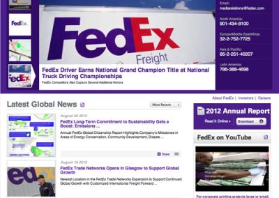 FedEx Corporate Sites
