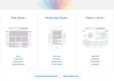 UX Style Guides v 2.0